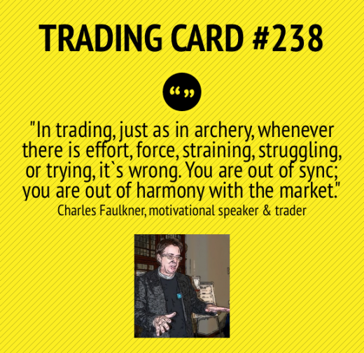 Trading Card #238: Being In Sync by Charles Faulkner