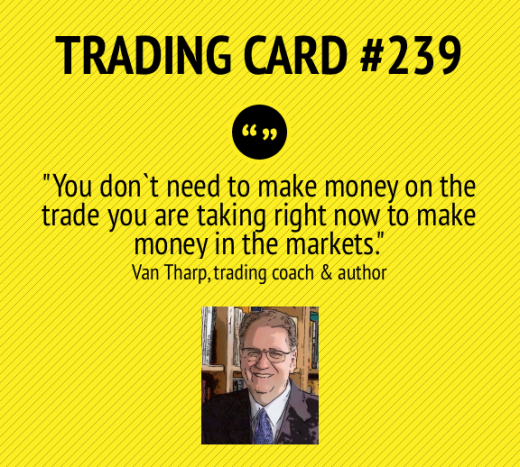 Trading Card #239: A Long Term View by Van Tharp