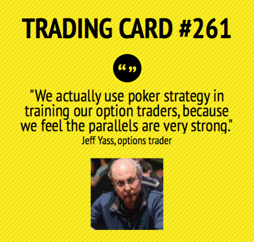 Trading Card #261: Poker Strategy by Jeff Yass