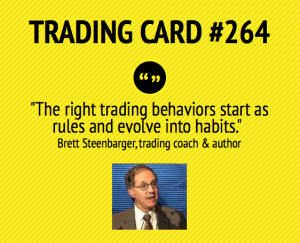Turning trading rules into trading habits.